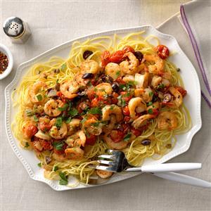 Shrimp Puttanesca Recipe