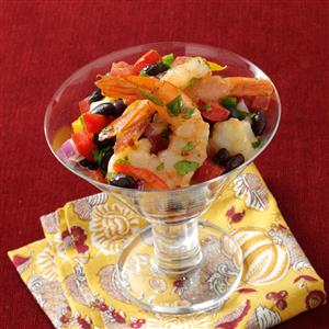 Shrimp with Roasted Peppers Recipe