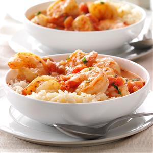 Shrimp with Tomatoes & Feta Recipe