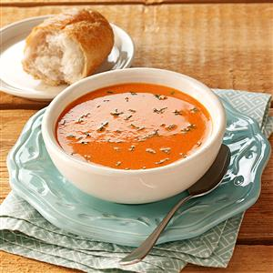 Simply Elegant Tomato Soup Recipe