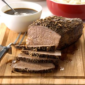 Sirloin Roast with Gravy Recipe