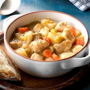 Skillet Chicken Stew Recipe