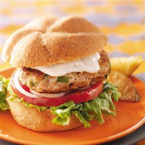 Skillet Ranch Burgers Recipe