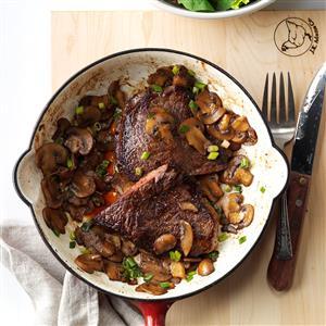 Skillet Steak Supper Recipe