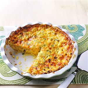 Skinny Crab Quiche Recipe