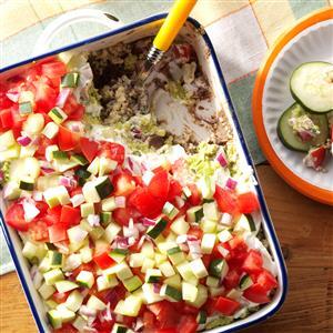 Skinny Quinoa Veggie Dip Recipe