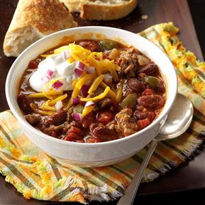 Slow-Cooked Chunky Chili Recipe