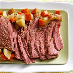 Slow-Cooked Corned Beef Recipe
