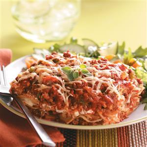 Slow-Cooked Lasagna Recipe