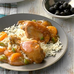 Slow-Cooked Mandarin Chicken Recipe
