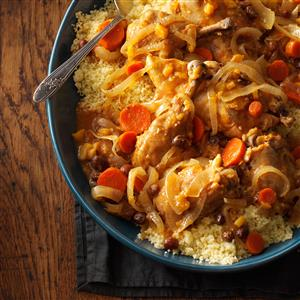 Slow-Cooked Moroccan Chicken Recipe