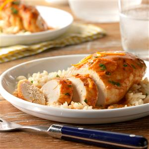 Slow-Cooked Orange Chipotle Chicken Recipe