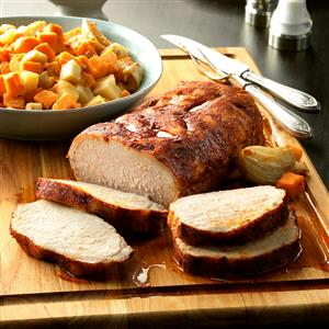 Slow-Cooked Pork with Root Vegetables Recipe