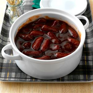 Slow-Cooked Smokies Recipe