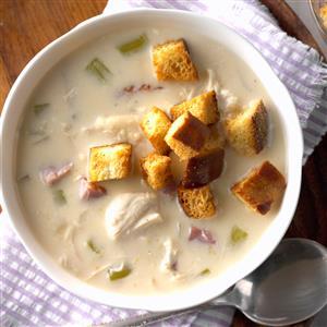 Slow Cooker Cordon Bleu Soup Recipe