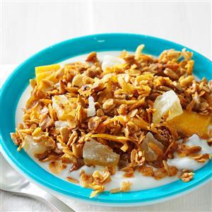 Slow Cooker Honey Granola Recipe