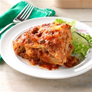 Slow Cooker Lasagna
