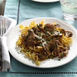 Slow Cooker Mushroom Beef Stroganoff Recipe