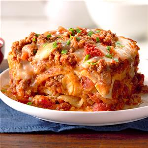 Slow Cooker Sausage Lasagna Recipe