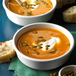 Slow Cooker Sweet Potato Soup Recipe