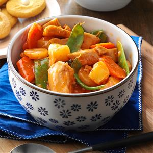 Slow Cooker Sweet-and-Sour Chicken Recipe
