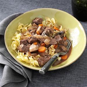 Slow-Simmering Beef Bourguignon Recipe