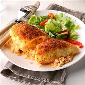 Smokin'-Philled Chicken Breasts Recipe