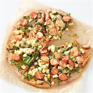 Smoky Sausage & Apple Pizza Recipe