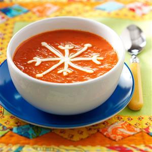 Snowflake Tomato Soup Recipe