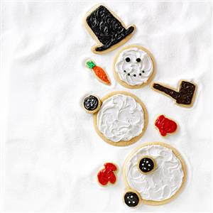 Snowman Cutouts Recipe