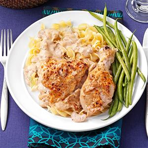Sour Cream 'n' Dill Chicken Recipe