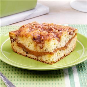 Sour Cream-Pumpkin Coffee Cake Recipe