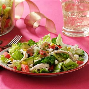 South-of-the-Border Chicken Salad with Tequila Lime Dressing Recipe