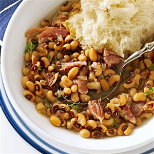 Southern black eyed peas recipe taste of home southern black eyed peas recipe forumfinder Image collections