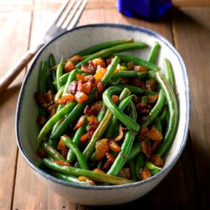 Southern Green Beans with Apricots Recipe