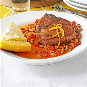 Southern Skillet Chops Recipe