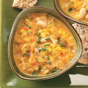 Southwestern Bean Chowder Recipe