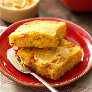Southwestern Corn Bread with Chili Honey-Lime Butter Recipe