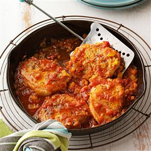 Southwestern Pineapple Pork Chops Recipe