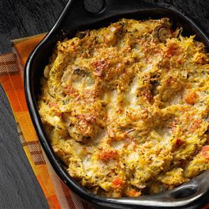 Spaghetti Squash Casserole Bake Recipe