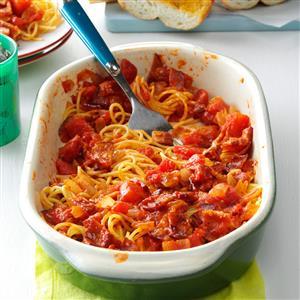 Spaghetti with Bacon Recipe