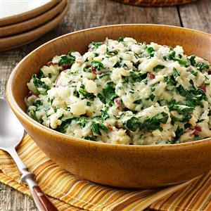 Spanakopita Mashed Potatoes Recipe
