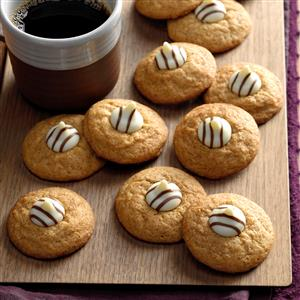 Spiced Cappuccino Kiss Cookies Recipe