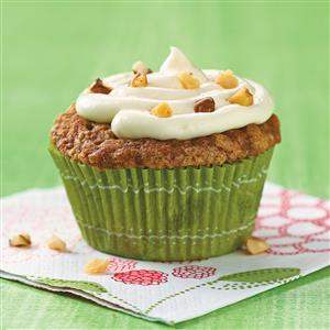 Spiced Carrot Cupcakes Recipe