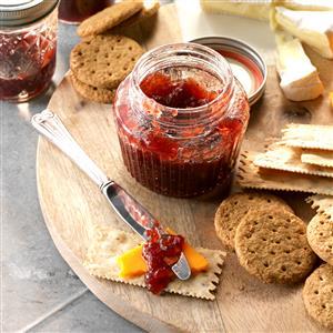 Spiced Cran-Apple and Grape Conserve Recipe