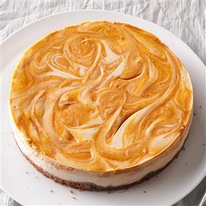 Spiced Pumpkin-Swirl Cheesecake Recipe