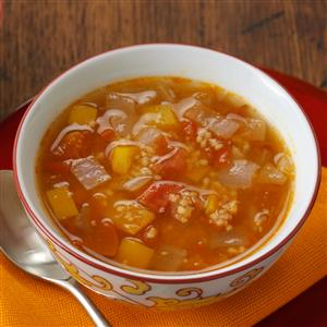 Spicy Couscous & Tomato Soup Recipe