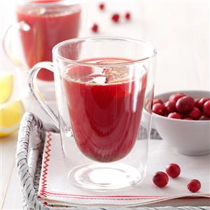 Spicy Cranberry Drink Recipe