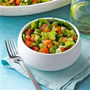 Spicy Gazpacho Salad Recipe