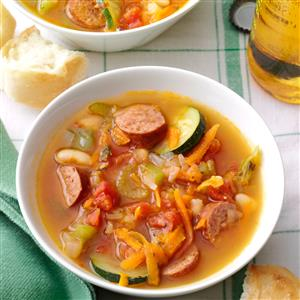 Spicy Kielbasa Soup Recipe